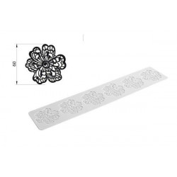 TRD03 FLOWER - SILICONE MAT 80X400 H 1,8 MM