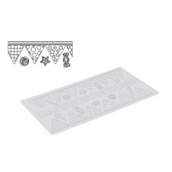 TRD17 CANDY PARTY - SILICONE MAT 400X200 H 1,8 MM
