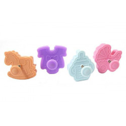 MINI COOKIE CUTTER BABY - 48X45 H 18 MM