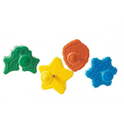 MINI COOKIE CUTTER JINGLE BELLS - 42X47 H 18 MM