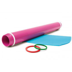 ADJUSTABLE ROLLING PIN WITH 3 SILICONE RINGS
