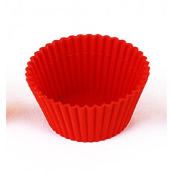 ROUND - SET 6 SILICONE Mold FOR CUPCAKES
