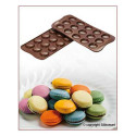 Silicone Mold Choco Macarons