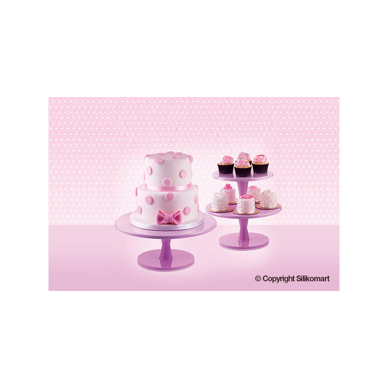 Cake Stand Pink Extra Large