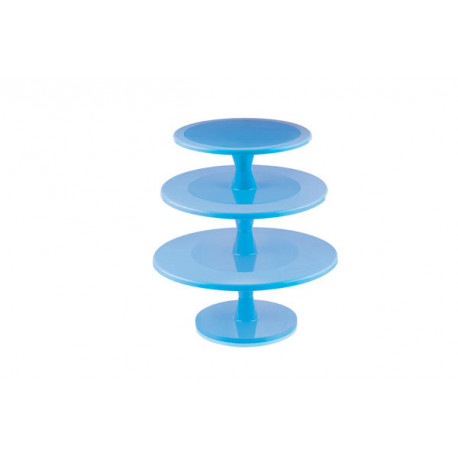 Cake Stand Blue Extra Large