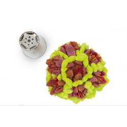 Textured Petal Flower Russian Tip