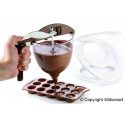 ACC086 FUNNEL CHOC-Chocolate & Batter Dispenser with Base and 3 Assorted Tips
