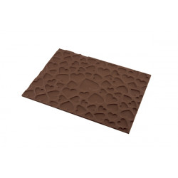 "3D Texture Mat, Heart Design Silicone Texture Mat, ""Magic Love"""