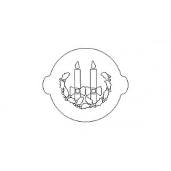 ACC 043 Pumpkin Cake Stencil