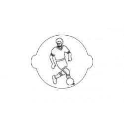 ACC 053 FOOTBALL CAKE STENCIL