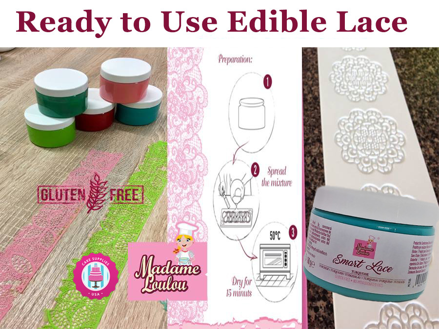 Ready To Use Edible lace